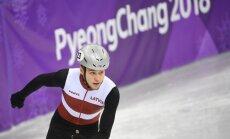 'Delfi' Phjončhanā: šorttrekists Zvejnieks ar pozitīvām domām cer vēlreiz labot Latvijas rekordu