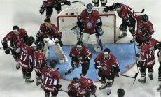 Latvijas hokeja izlase spēkojas ar Znaroka un Vītoliņa vadīto Krievijas valstsvienību