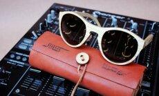 Foto: Klajā laista ekskluzīva Latvijā ražotu koka saulesbriļļu kolekcija '[Ex] Da Bass Collection'