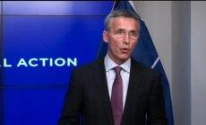 NATO: Krievija savelk spēkus pie Ukrainas robežām un turpina atbalstīt separātistus