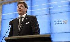 Par Zviedrijas parlamenta spīkeru ievēlēts konservatīvo pārstāvis Norlens