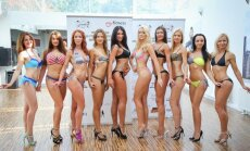 Foto: Zināmas bikini fitnesa projekta 'Miss Fitness Model 2015' dalībnieces