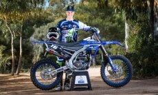 Motokrosa braucējam Sabulim augstā sestā vieta Eiropas čempionāta posmā