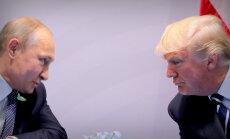 Tramps Putinu grib satikt vienatnē
