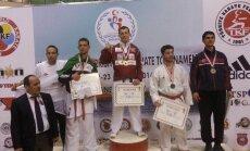 Latvijas karatists Ruslans Sadikovs izcīna zelta medaļu Turcijas atklātajā karate čemponātā