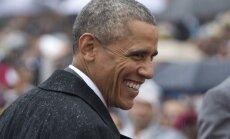 Aprēķināts, cik pagājušogad nopelnījis Obama