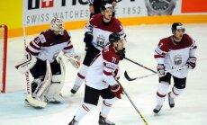 Video: Latvijas hokejisti pamatīgi 'pakutina' nervus, bet paliek elitē