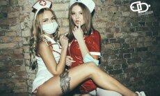 Foto: Rīgā noticis pirmais fetiša karnevāls