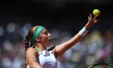Ostapenko sasniedz Toronto WTA turnīra dubultspēļu ceturtdaļfinālu