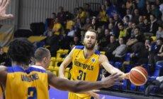 'Ventspils' basketbolisti gūst uzvaru arī sezonas otrajā pārbaudes spēlē