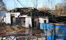 Video: Lokalizēts ugunsgrēks angārtipa ēkā Austuves ielā Rīgā