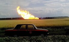 Ukrainā spēcīgs sprādziens sapostījis gāzesvadu, pa kuru uz Eiropu plūst Krievijas gāze
