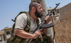 ASV: Sīrijas režīms ir pārkāpis 'sarkano līniju'