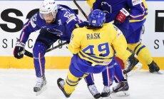 Video: Francijas hokejisti 'pakutina nervus' Zviedrijai