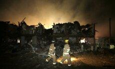 Spēcīgs sprādziens nogrand rūpnīcā Teksasā; ir cietušie un bojāgājušie (papildināts 14:06)(+FOTO; +VIDEO)