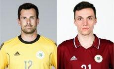 Latvijas futbola izlases sākumsastāvā pret Dienvidkoreju debitēs Ikstens un Jurkovskis