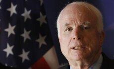 В Латвию едет делегация сенаторов США с Маккейном во главе