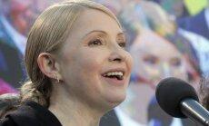 Timošenko aicina Rietumus militāri stiprināt Ukrainu