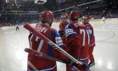 Krievijas izlase Sočos - 15 NHL 'veči' un iespaidīga uzbrukuma līnija