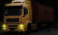 Kravas automašīnu rindas uz Latvijas-Krievijas robežas turpina sarukt
