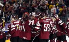 Infografika: Latvijas hokejisti otro reizi PČ sāk ar uzvaru