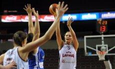 Latvijas basketbolistes sagrauj Somiju