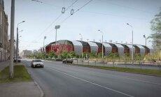 'Futbola mājas': apsildāms mākslīgais laukums, unikāla būvakustika, šautuve un 5500 skatītāju vietas