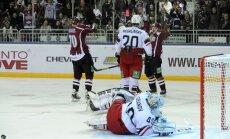 Indraša un Haščāka sadarbība iekļuvusi KHL mēneša topā