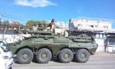 Sīrijā nofotografēta Krievijas militārās tehnikas kolonna
