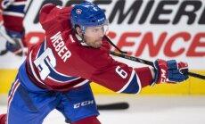 Monreālas 'Canadiens' līderis Vēbers pusi sezonas spēlējis ar ielauztu kaulu