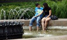 Bauskā, Saldū un Stendē sasniegts jauns 20. jūlija karstuma rekords