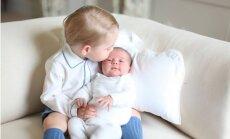 Опубликованы первые фото дочери принца Уильяма