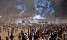 Массовые столкновения на границе сектора Газа с Израилем — сотни раненых, десятки убитых