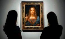 Leonardo da Vinči glezna pārdota par rekordlielu summu