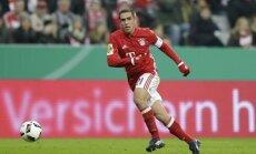 Minhenes 'Bayern' kapteinis Lāms pēc šīs sezonas atvadīsies no futbola