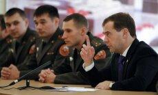 Krievijas prezidents: ar karu Gruzijā Krievija apturēja NATO paplašināšanos
