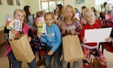Labdarības akcijā lūdz ziedot skolai nepieciešamās lietas sociālā riska ģimenēm