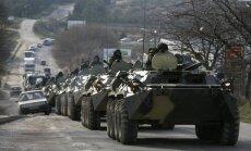 Cilinskim vilka pase, tuvojas vētra, Krimas tatāru protesti