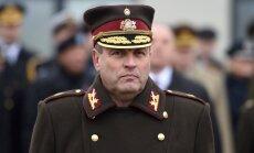 Глава Вооруженных сил Латвии: не собираюсь ни с кем мериться величиной армии