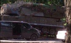 Publicēta jauna fotogrāfija ar MH17 notriekušā 'Buk' transportēšanu