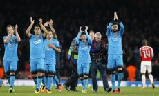 'Juventus' Čempionu līgā atspēlējas pret 'Bayern'; 'Barcelona' izbraukumā uzvar 'Arsenal'