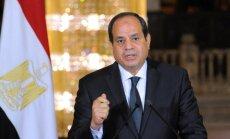 Ēģiptes aviācija bombardē teroristu nometnes Lībijā