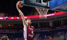 Dāvis Bertāns priecājas par iespēju spēlēt Latvijas valstsvienībā