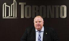 Miris skandalozais bijušais Toronto mērs Fords