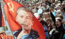 Krimā uzstādīta piemiņas plāksne Staļinam