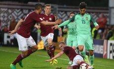 Latvijas futbola valstsvienība sasniedz jaunu visu laiku sliktāko pozīciju FIFA rangā