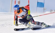 Latvijas kalnu slēpotājai Bondarei karjeras FIS punktu rekords