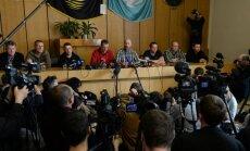 Ukrainā atbrīvoti nolaupītie EDSO novērotāji