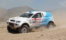 Saukānam/Dambim 86.vieta Dakaras rallijreida ceturtajā posmā