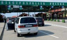 Polijas-Kaļiņingradas robežas šķērsošana pagaidām netiks atvieglota